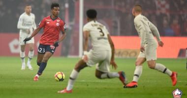 Лилль - ПСЖ 5:1 видео голов и обзор матча чемпионата Франции