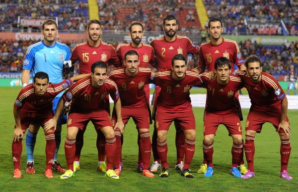 Сборная Испании в отборе на Евро-2016