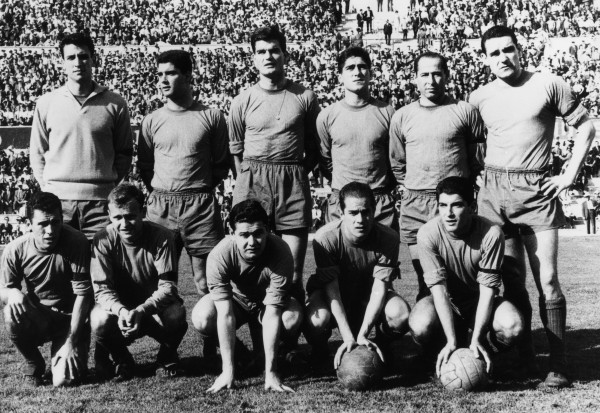 Сборная Испании (1962 год)