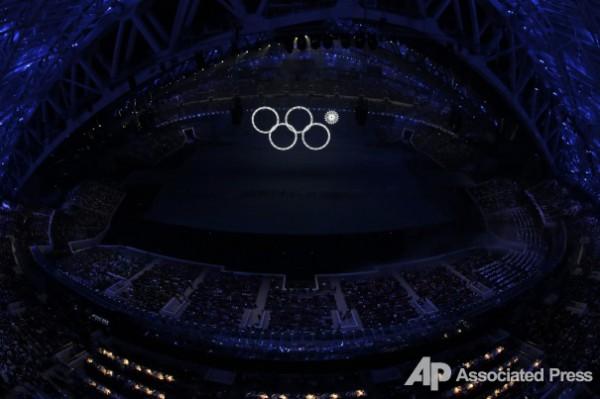 Организаторы трансляции церемонии открытия прикрыли конфуз видео с репетиции