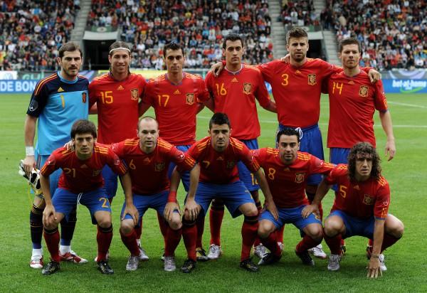 Сборная Испании (2008 год)