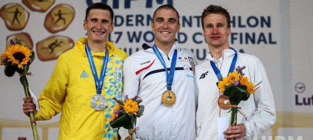 Тимощенко стал призером финала Кубка мира по современному пятиборью