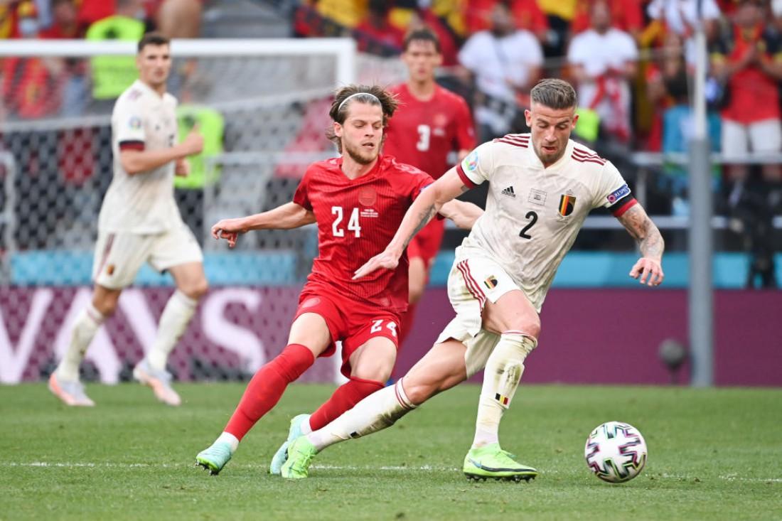Сборная Дании - сборная Бельгии
