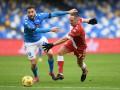 Наполи забил шесть мячей в ворота Фиорентины в матче чемпионата Италии