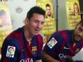 Игроки Барселоны устроили турнир по виртуальному футболу (ВИДЕО)