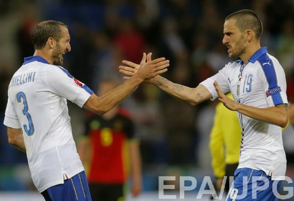 Италия обыграла Бельгию на Евро-2016