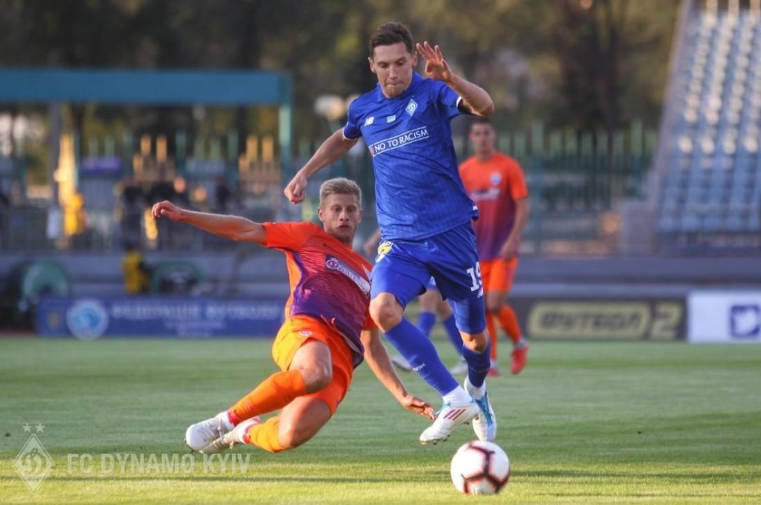 Динамо без проблем обыграло Мариуполь