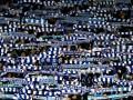 Фанаты Динамо вывесили провокационный баннер в адрес клуба