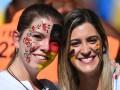 Цветущие немки и аргентинская грудь: Лучшие фото фанатов на финале ЧМ-2014