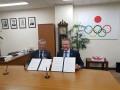 Олимпийские комитеты Украины и Японии подписали меморандум о сотрудничестве