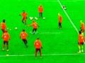 Бавария продемонстрировала космическое владение мячом на тренировке