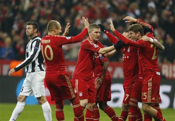 Бавария радуется чистой победе