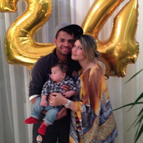 Семья уже воспитывает сына Бруно Лукаса