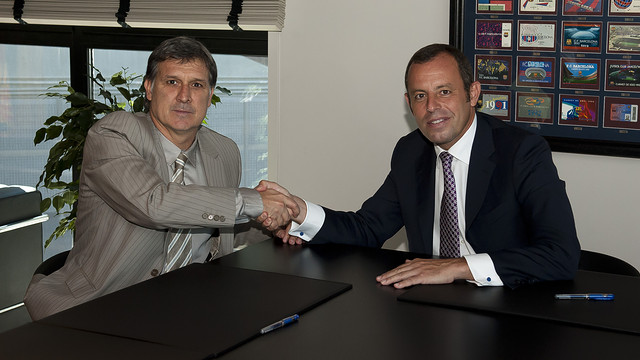 Мартино подписал контракт с Барселоной