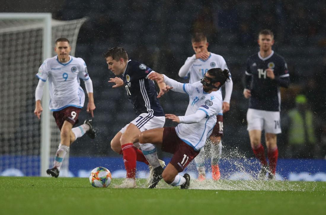 Шотландия - Сан-Марино: видео голов и обзор матча