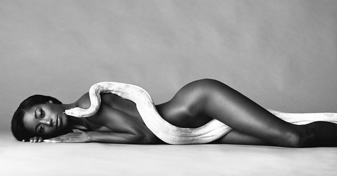 Американская модель Джацма Кендрик