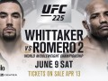 Уиттакер – Ромеро: видео онлайн трансляция боя UFC 225