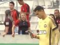 Подходящее время: Голкипер из Бразилии во время матча сидел в телефоне