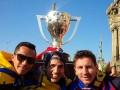 Фотогалерея: Как Барселона праздновала свое чемпионство