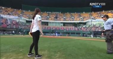 Южнокорейская гимнастка взорвала интернет своей подачей