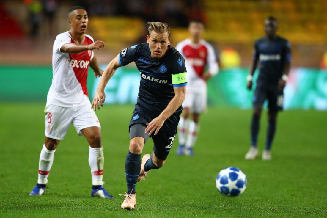 Брюгге разгромил Монако в матче ЛЧ: видео голов и обзор матча