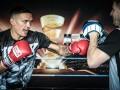 Усик - Хук: фото тренировки боксеров