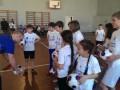 Эвертон в одной из школ Киева провел тренировку для детей