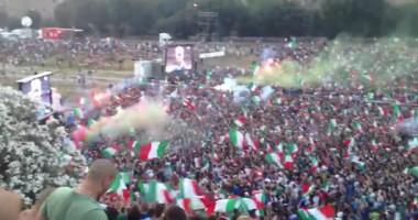 Многотысячное разочарование. Как итальянцы поддерживали сборную в финале Евро-2012