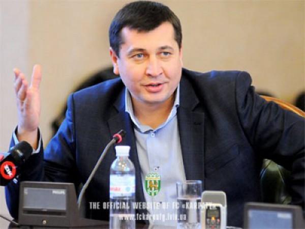 Игорь Дедышин написал заявление на Стороженко