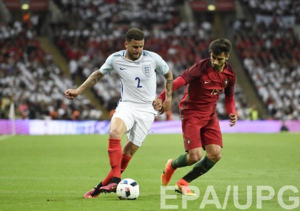 Англия обыграла Поругалию