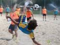 Песок и вода. Тренировочные будни призеров чемпионата Украины (ФОТО)