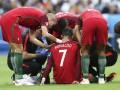 Роналду рискует пропустить 5 месяцев из-за травмы на Евро-2016