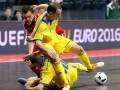 Евро-2016 по футзалу: Украина крупно уступает Испании