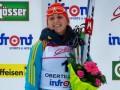 Украинская биатлонистка Варвинец завоевала