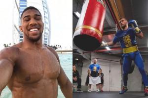 Джошуа на отдыхе и Ломаченко на тренировке: лучшие инстафото спортсменов недели
