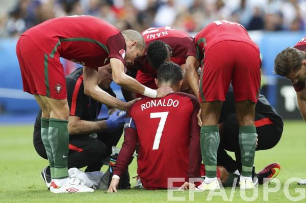 Криштиану Роналду получил серьезную травму на Евро