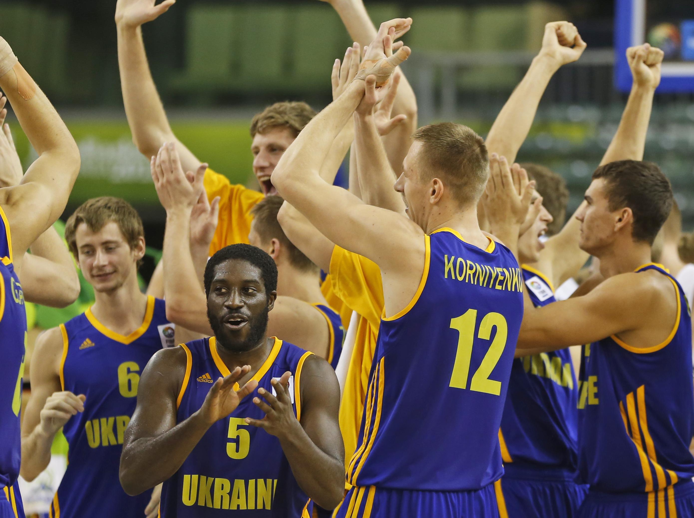 Сборная Украины по баскетболу впервые в карьере сыграет на чемпионате мира