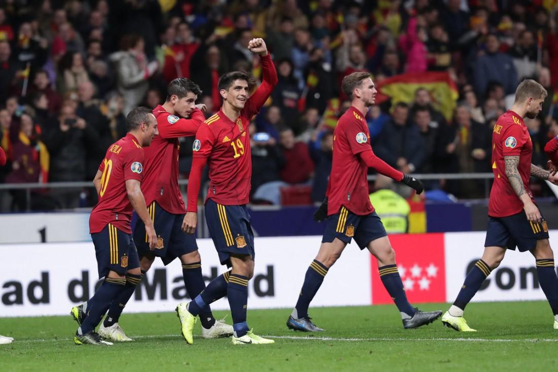 Испания - Румыния: видео голов