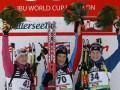 Хохфильцен: Зайцева выиграла спринтерскую гонку, Вита Семеренко - пятая