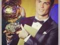 Ирина Шейк поздравила Роналду с получением Золотого мяча (ФОТО)
