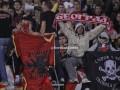 Фанаты Црвены Звезды сожгли флаг Албании по ходу матча с Партизаном