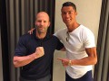 Роналду встретился с актером, который бьет 50 человек за один фильм