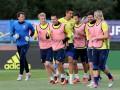 Сборная Украины провела последнюю тренировку на Евро-2016