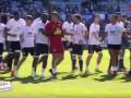 Фанаты Бастии выбежали на поле и атаковали игроков Лиона