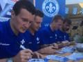 Федецкий и Олейник провели автограф-сессию в Дармштадте