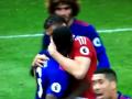 Защитник МЮ устроил разборки с нападающим Мидлсбро во время матча