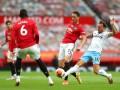 Манчестер Юнайтед - Вест Хэм 1:1 видео голов и обзор матча чемпионата Англии