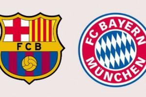 Барселона - Бавария – онлайн трансляция матча 1/2 финала Лиги Чемпионов