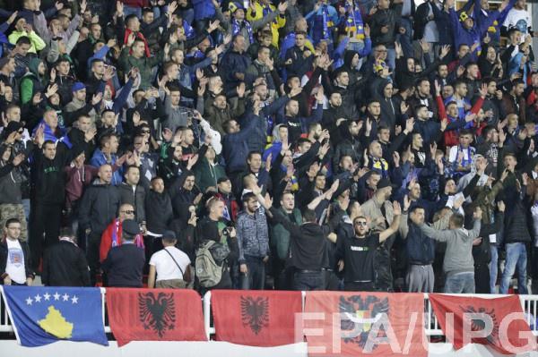 ФИФА может наказать сборные Косово и Хорватии за поведение фанатов