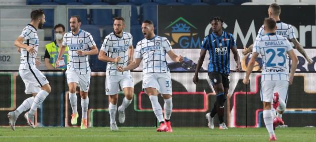 Аталанта уступила Интеру и завершила сезон на третьем месте